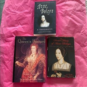 Other - Three Anne Boleyn / Tudor Books